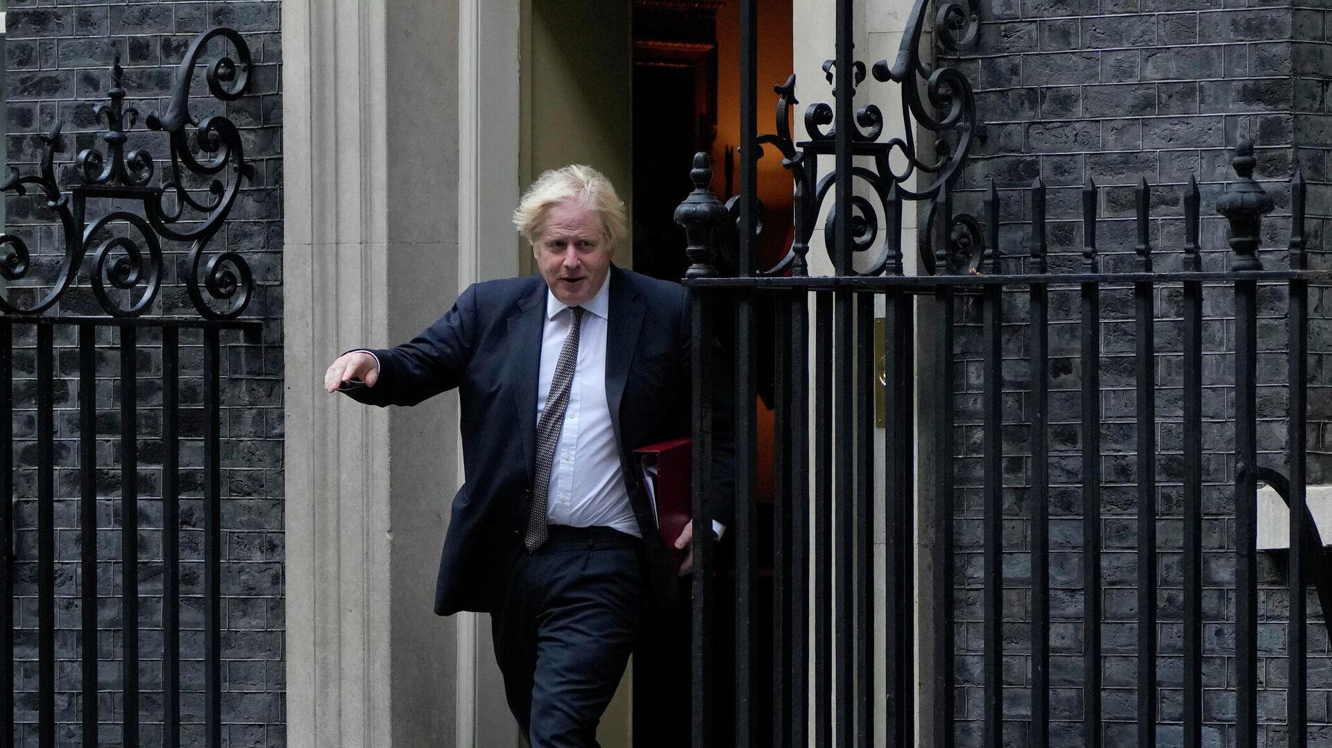 Премьер-министр Великобритании Борис Джонсон, Лондон - РИА Новости, 1920, 28.08.2021