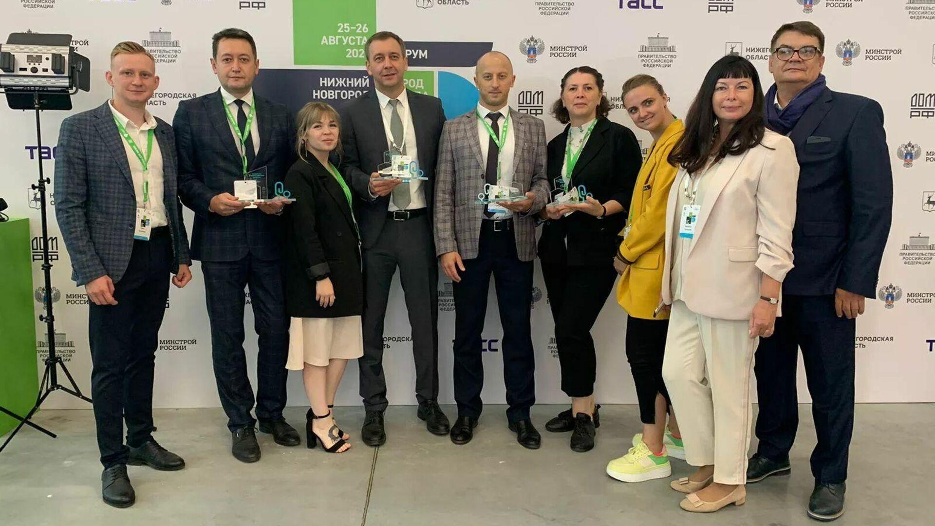Участники проектов из Тульской области, победившие в конкурсе благоустройства - РИА Новости, 1920, 26.08.2021