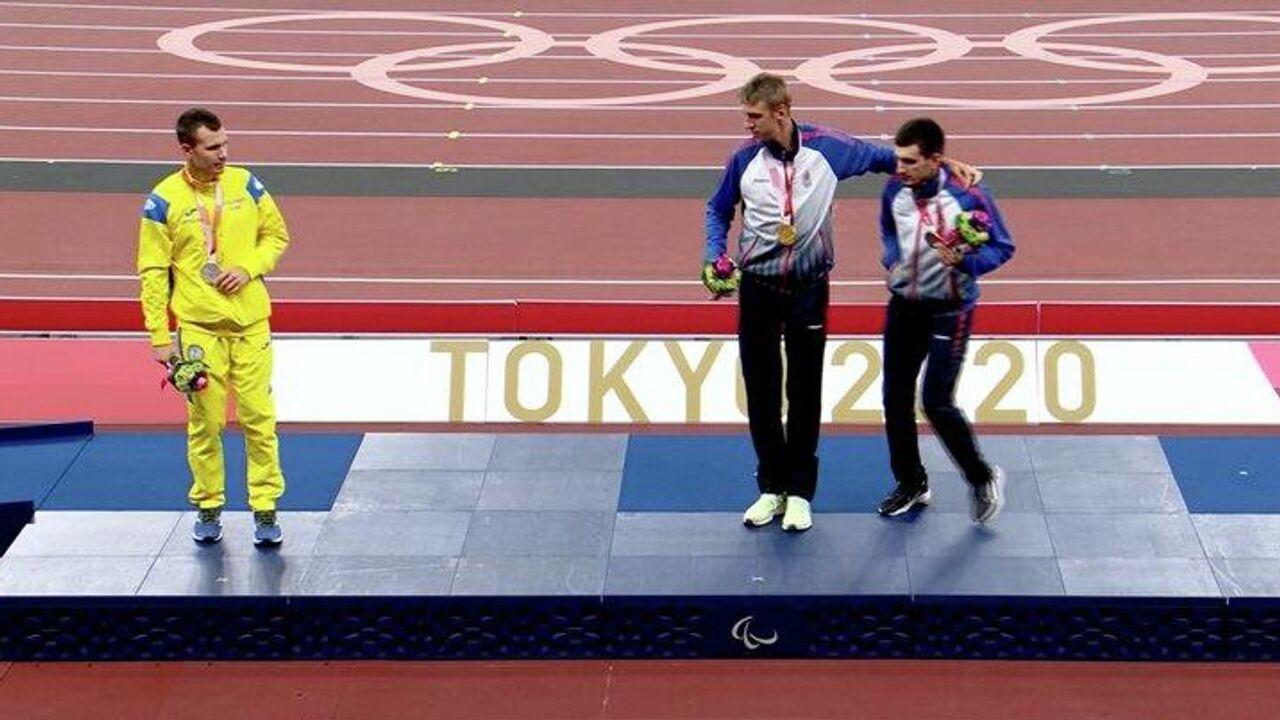 Украинский паралимпиец вновь отказался фотографироваться с россиянами