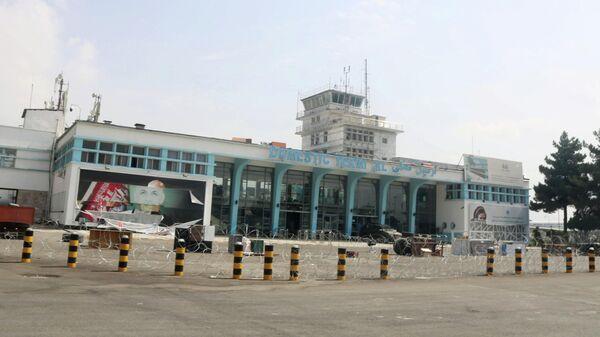 Терминал аэропорта в Кабуле после вывода американских войск