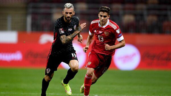 Футбол. Отборочный матч ЧМ-2022. Россия - Хорватия
