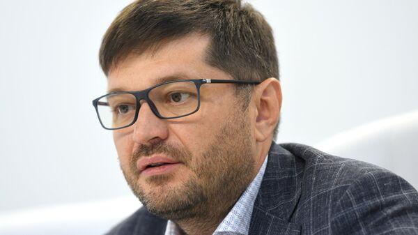 Вице-президент АО Российский экспортный центр Максим Кобин