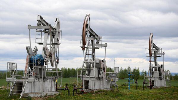 Работа буровых установок ПАО Татнефть