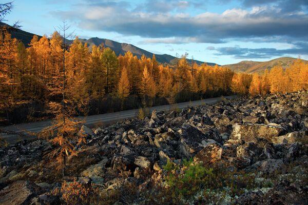 Осень в Магаданской области, Дальний Восток