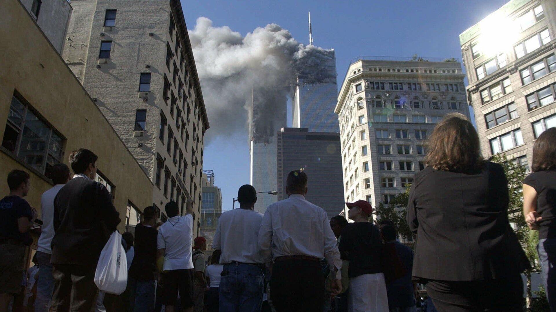 Теракта 11 сентября 2001 года в Нью-Йорке - РИА Новости, 1920, 09.09.2021