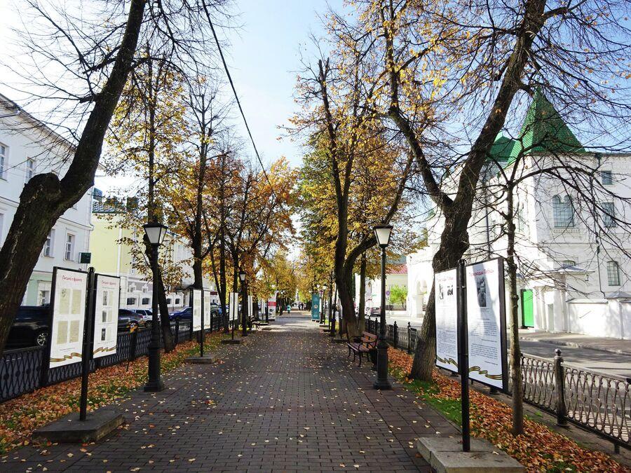 Улица Комсомольская, деревянный дом