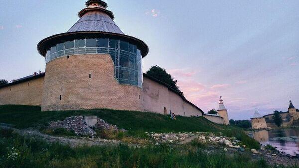 Варлаамовская башня Псковской крепости