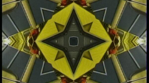Кадр из видео Сергея Шутова Вместо Минотавра. Работа с выставки Чужие здесь не ходят