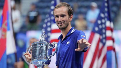 Российский теннисист Даниил Медведев - победитель US Open.