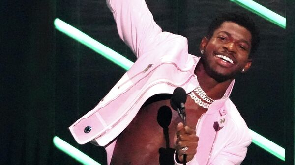 Рэпер Lil Nas X  на премии MTV Video Music Awards