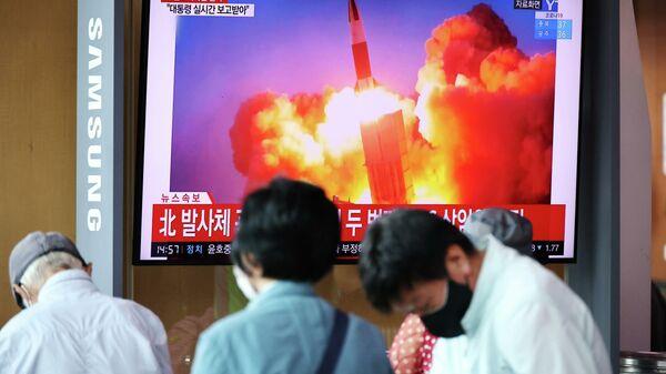 Двойное испытание. Сеул и Пхеньян обменялись ракетными ударами