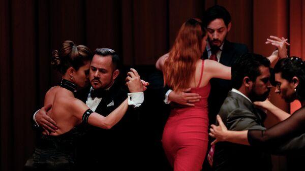 Участники чемпионата мира по танго в Буэнос-Айресе