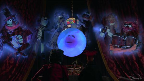Кадр из фильма Маппеты. Особняк с привидениями