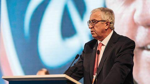 Президент Международной федерации хоккея Люк Тардиф