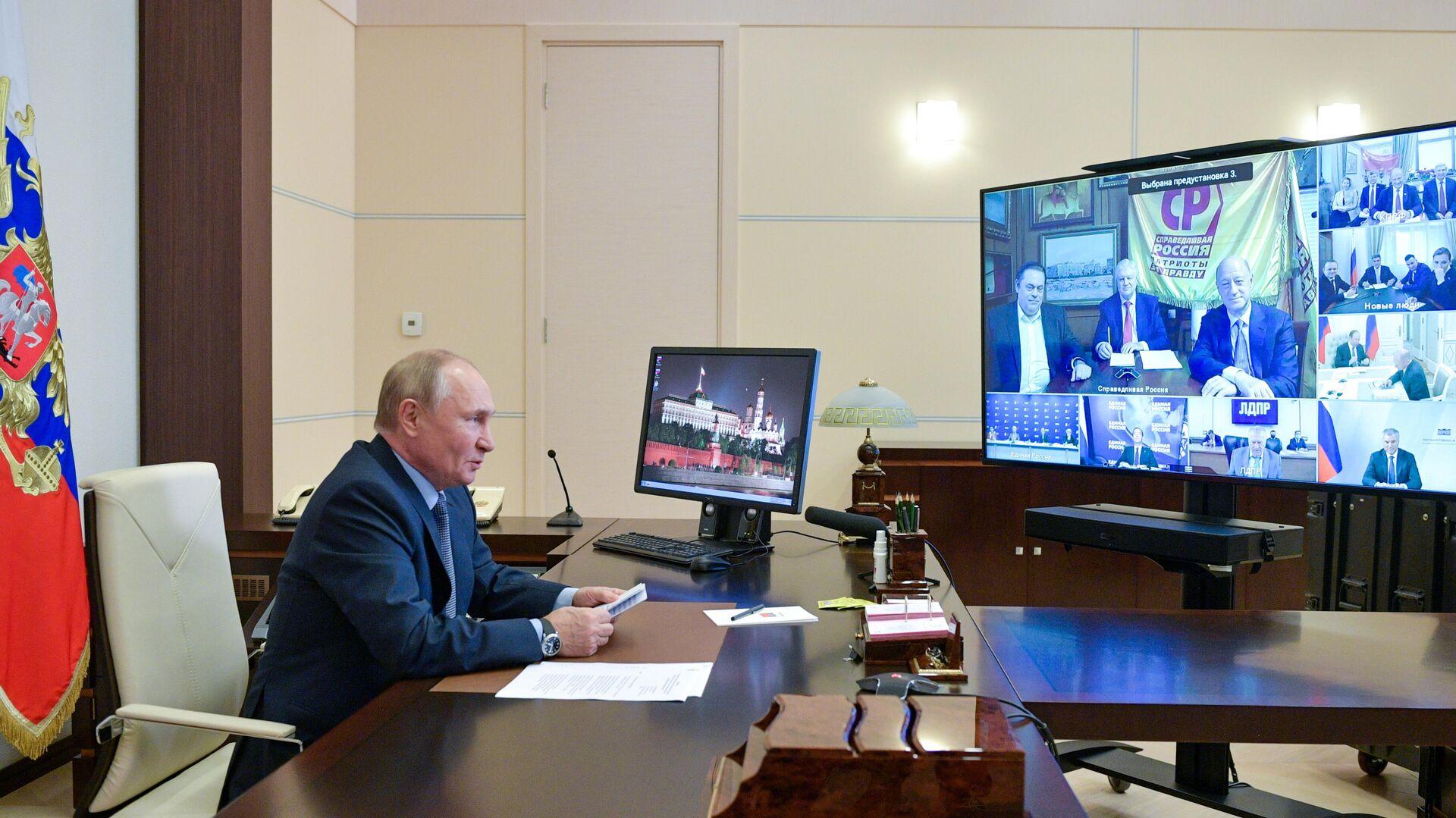 Путин объяснил, почему возникли сомнения в электронном голосовании в Москве