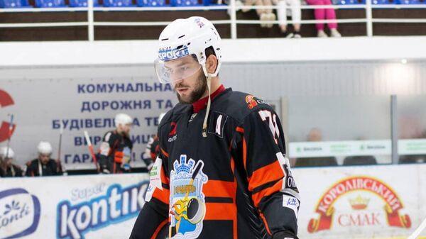 Хоккеист Кременчука Андрей Денискин