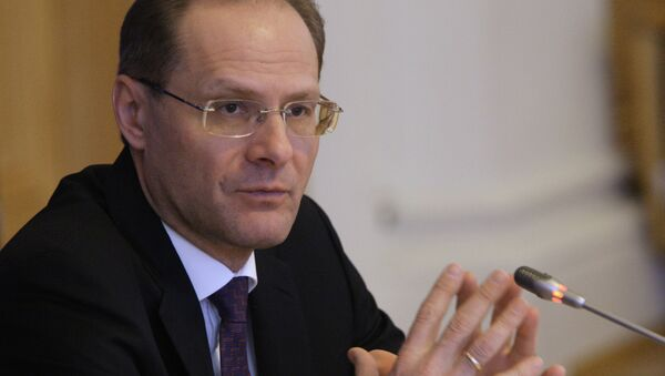 Губернатор Новосибирской области Василий Юрченко