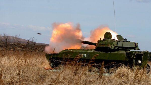 Артиллеристы Восточного военного округа (ВВО)