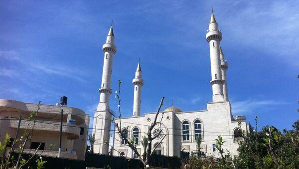 Мечеть, которую открыл под Иерусалимом глава Чечни Рамзан Кадыров