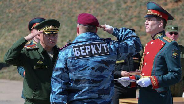Министр обороны РФ Сергей Шойгу посетил Крым