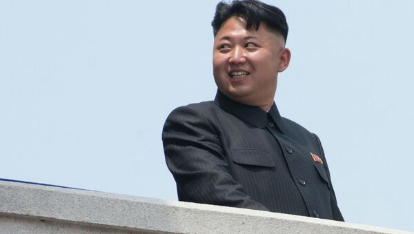 Первый секретарь Центрального комитета Трудовой партии Кореи Ким Чен Ын. Архивное фото.