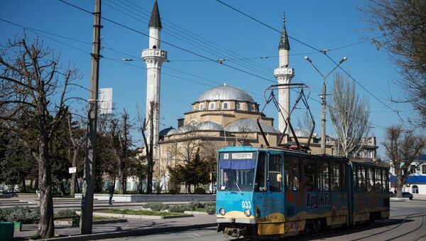 Мечеть Джума-Джами в городе Евпатории. Архивное фото
