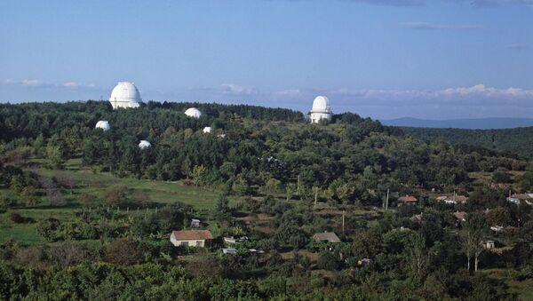 Крымская астрофизическая обсерватория, архивное фото
