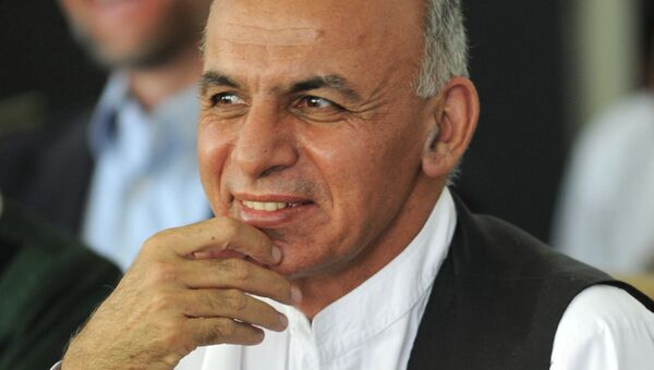 Ашраф Гани Ахмадзай. Архивное фото