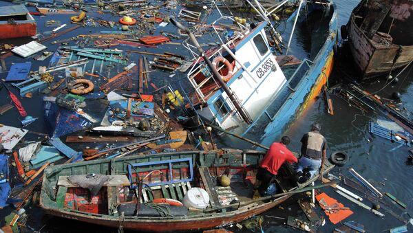 Последствия землетрясения и цунами в Чили. Фото с места события