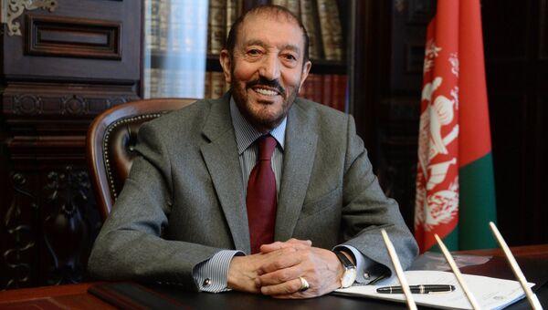 Чрезвычайный и полномочный посол Исламской Республики Афганистан в Российской Федерации Азизулла Карзай
