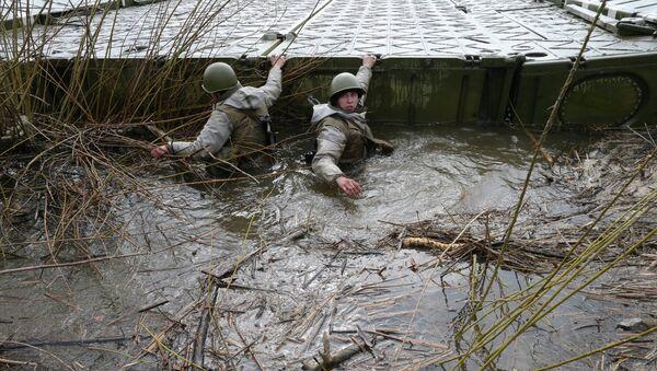 Учения береговых войск, архивное фото