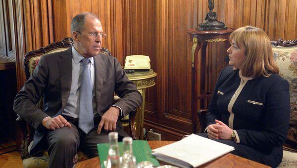 Встреча главы МИД РФ С.Лаврова с главой МИД Молдавии Н.Герман