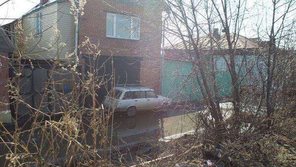 Подтопление в поселке Черная речка под Томском, фото с места события