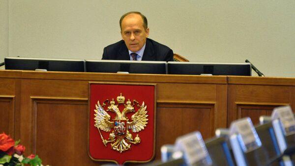 Заседание Национального антитеррористического комитета (НАК) под руководством А.В. Бортникова. Архивное фото