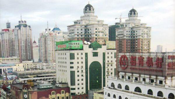 Город Харбин. Архивное фото