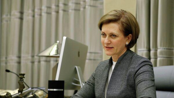 Глава Федеральной службы по надзору в сфере защиты прав потребителей и благополучия человека (Роспотребнадзор) Анна Попова. Архивное фото