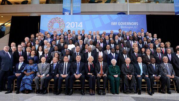 Весенняя сессия Международного валютного фонда и Всемирного банка в Вашингтоне, 12 апреля 2014
