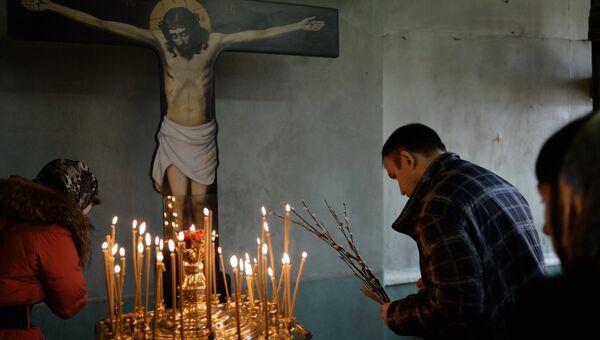 Вербное Воскресенье в Москве