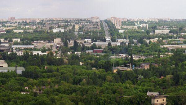 Город Краматорск, архивное фото