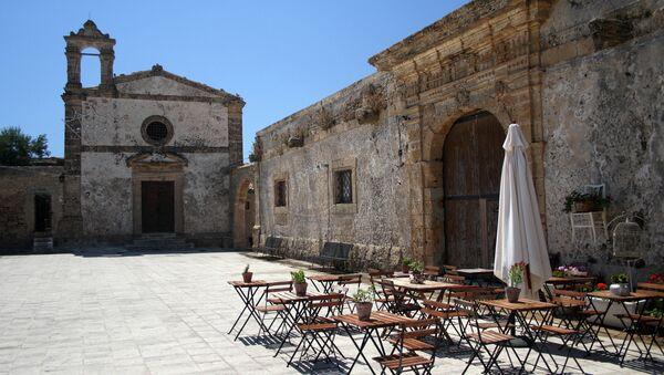 Кафе на Сицилия. Архивное фото
