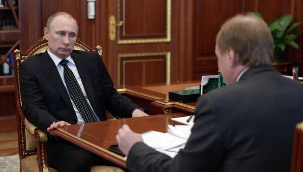 Встреча В.Путина с В.Толстым