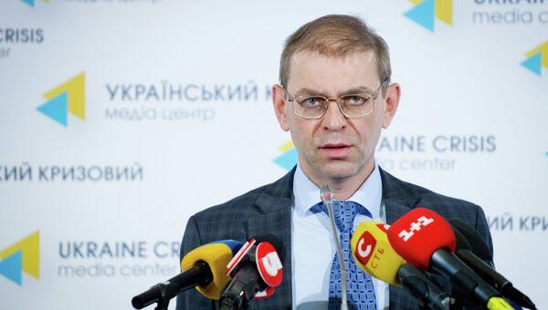 И.о.главы администрации и.о.президента Украины Сергей Пашинский