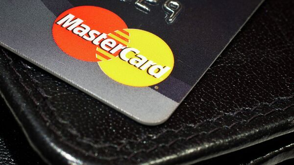 Платежная карта MasterCard. Архивное фото