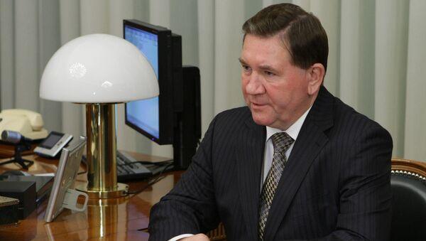 Губернатор Курской области Александр Михайлов. Архивное фото