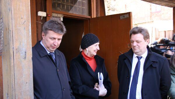 Объезд объектов деревянного зодчества в Томске