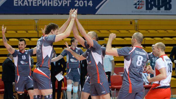 Волейболисты Белогорья. Архивное фото