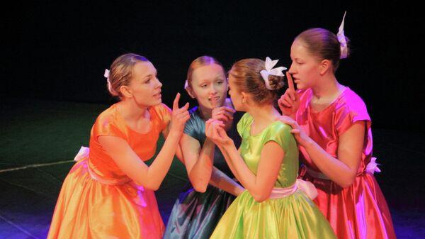 Гала-концерт томского фестиваля областного фестиваля детских самодеятельных театров Майский жук