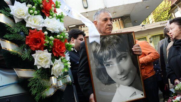 Прощание с актрисой Татьяной Самойловой