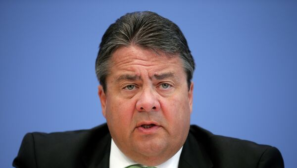 Министр экономики и вице-канцлер Германии Зигмар Габриэль. Архивное фото