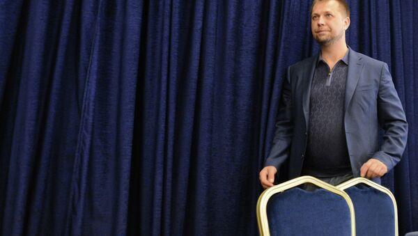 Пресс-конференция премьер-министра ДНР Александра Бородая в Донецке